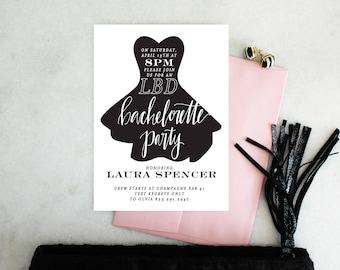 PRINTABLE Bachelorette Party Invitation | LBD