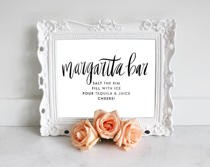 PRINTABLE Sign | Margarita Bar