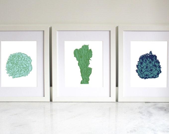 Home Printable | Cacti & Succulants