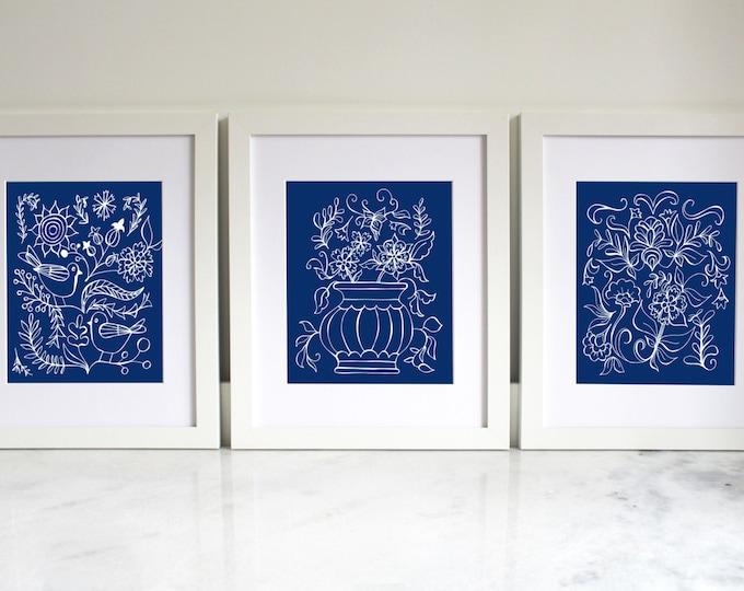 Home Printable | Blue China