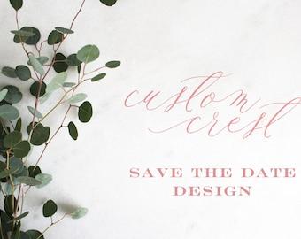 Custom Crest | Initials | Monogram | Wedding Branding