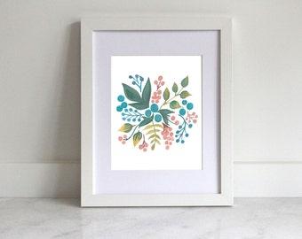 Home Printable   Leaves & Berries