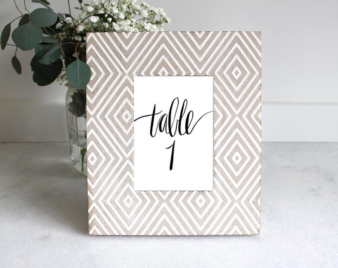PRINTABLE Sign   Table Numbers