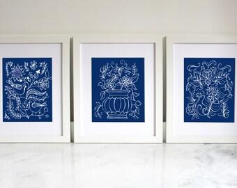 Home Printable   Blue China