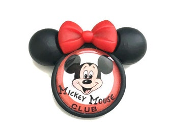 Mickey Mouse Club Brooch Mickey Mouse Club Pin