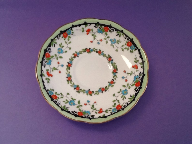 Tea Party Bridal Shower Group 5 Bone China England Saucers ONLY Royal Albert Orphan Saucers Replacement China