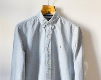 12b44151598c Ralph Lauren Shirt size S light blue color