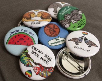 4 for 5 Deal! 4 Buttons for 5 Dollars