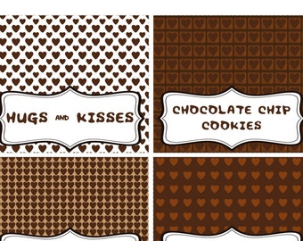Chocolate Party Buffet Labels, Tabel Labels, Chocolate party Supplies