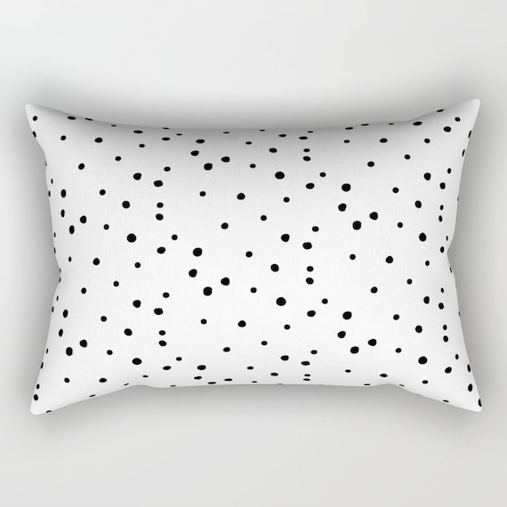 Lumbar Throw Pillow Dalmatian Polka