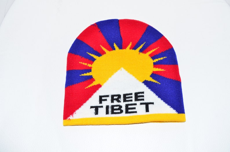 Free Tibet Tibetan Hat