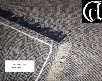 viking wool shawl