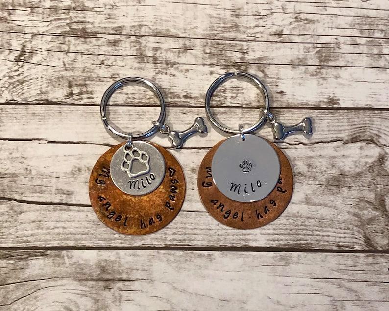 Custom Pet Remembrance Key Chain