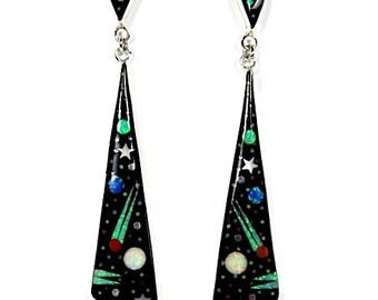1c139601dd2d3 Zuni opal earrings | Etsy