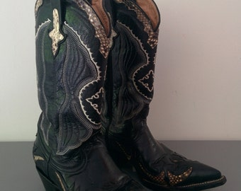 Cowboy boots boots GoWest Pyton and cobra 38