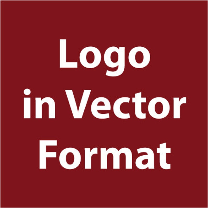 Logo in vector format  High Resolution  ai, eps, pdf  Need your low  resolution, blurry logo in vector format?