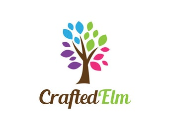 Custom Tree Logo Design.  Premade Logo Design.  Tree, colorful, nature, leaves.  Customized for ANY business logo.