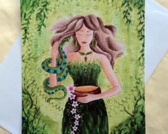 """Spirit Energy Card """"The Healer"""" incl. envelope"""