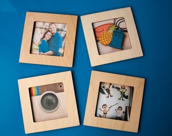 Magnetic Photo Frame Etsy