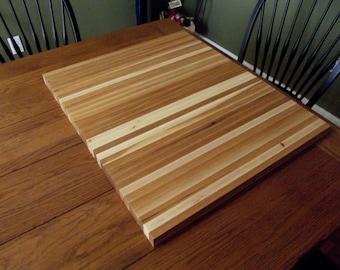 """24""""x28""""  1 1/4"""" thick  Cutting Board Perfect for restaurants or anything requiring a heavy duty cutting service with the beauty of hardwood"""