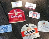 Lot of Vintage Beer Labels