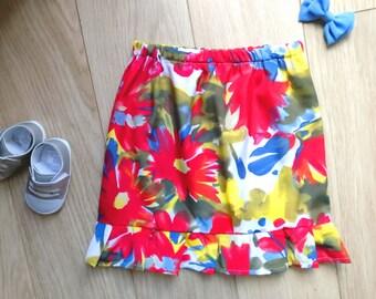Vintage skirt size 4-5, vintage skirt girl aged 4-5 years, vintage skirt size 4, vintage skirt size 5, vintage skirt 4 years, skirt 5 years