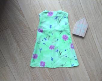 Chiffon dress size 2T, toddler dress 2 years, toddler dress 2T, chiffon dress 2T