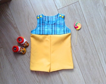 Romper baby size 4-6 months, playsuit baby size 4-6 months, playsuit 4 months, baby playsuit 6 months, romper newborn, playsuit newborn