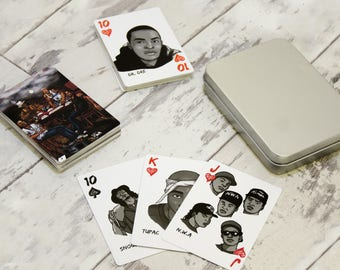 Classic Hip-Hop Playing Cards