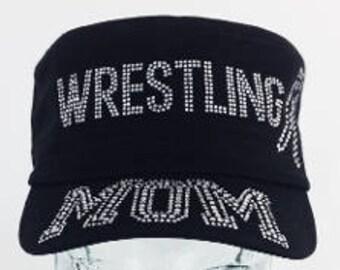 Wresting  mom cadet hat