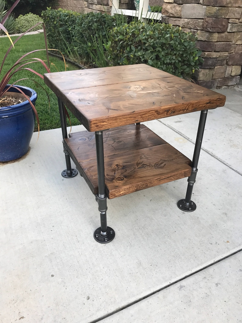 super popular a2243 b4d7a industrial Table, Industrial Nightstand, Steampunk Decor, Rustic  Nightstand, Pipe Table, Pipe Nightstand,rustic decor, ,