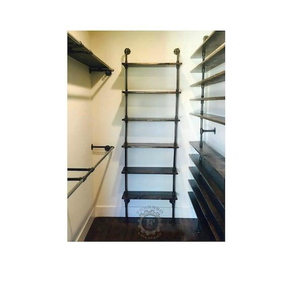 Industrial Pipe Shelf Industrial Shelf Store Shelf Book   Etsy