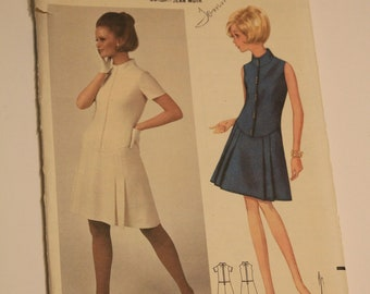 Butterick # 4577 Vintage Dress pattern from the 70s
