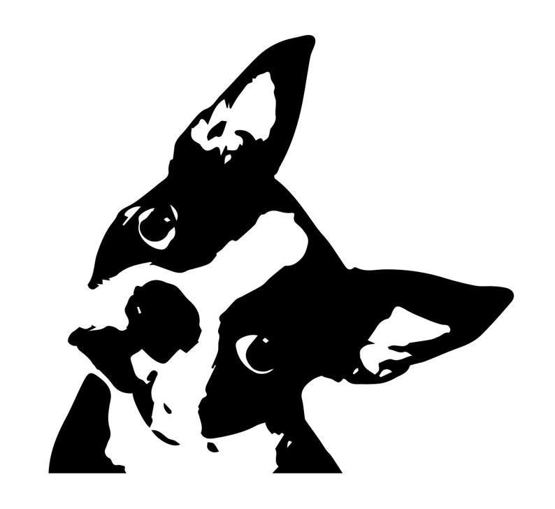 Download Boston Terrier Puppy Dog SVG Cricut Explorer Digital File ...
