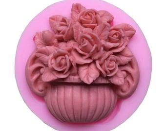 "/""Tulip basket/"" plastic soap mold soap making mold mould"
