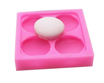Free shipping 3D Macaroon for Window Decoration  Craft Art Silicone Soap mold Craft Molds DIY Handmade Candle mold Chocolate Mold moulds