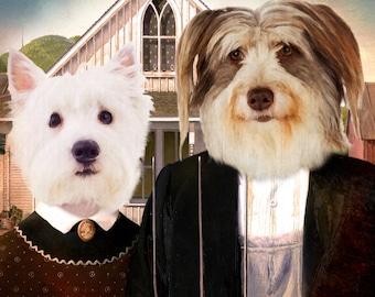 Couple Pet Portraits