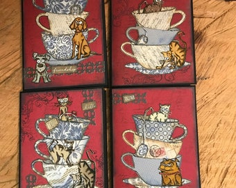 Tea for Two Cards