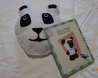 Lizzy Panda Tells the Truth book and Panda pillow gift set