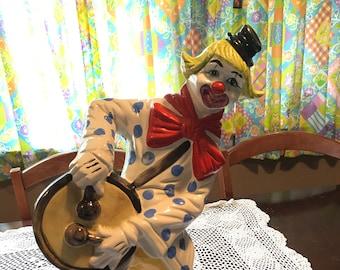 Capodimonte vintage Italian made clown