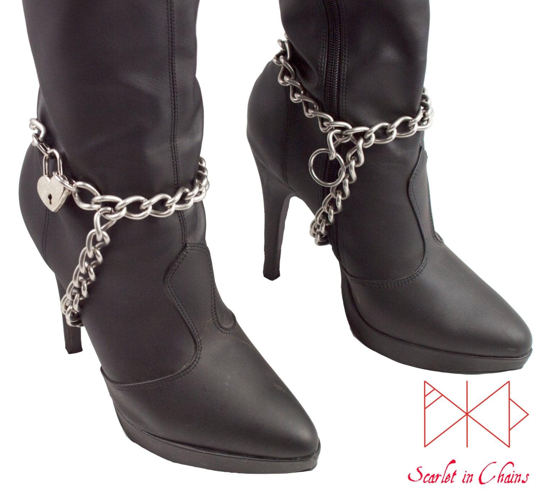 Forced feminization heels
