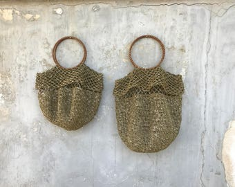 OLIVE GREEN RAFFIA Bag. Ultra soft straw bag. Handmade woven bag available in two sizes.