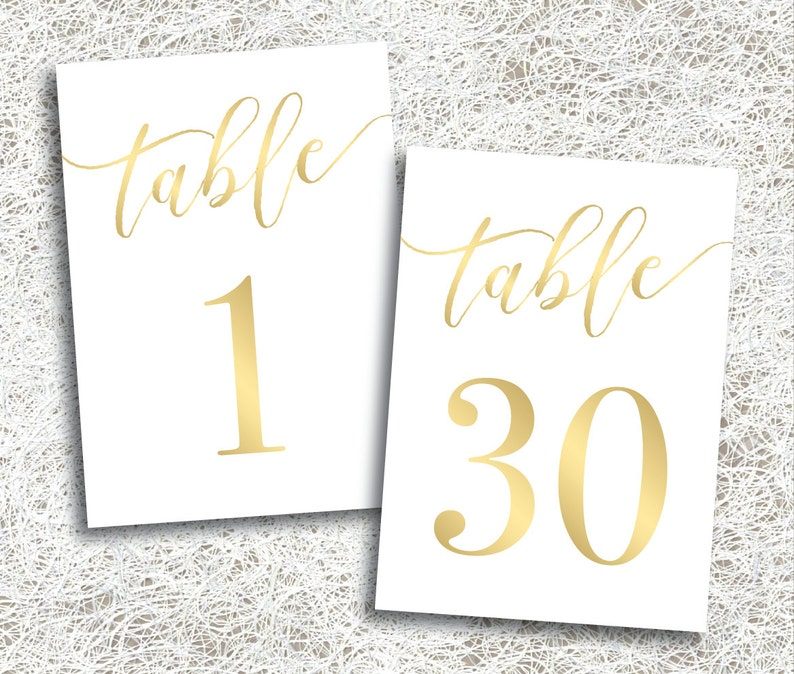 graphic relating to Printable Wedding Table Numbers called Gold Printable Marriage Desk Quantities 1 - 30 Immediate Down load Printable Gold Desk Figures Activities Banquet Reception (FROST Preset)