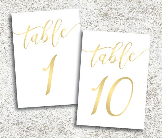 Pleasant Gold Wedding Table Numbers 1 10 Printable Instant Download Printable Gold Script Table Numbers Banquet Anniversary Frost Set Download Free Architecture Designs Rallybritishbridgeorg