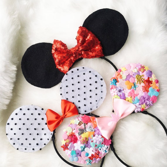 Mickey Ears Mouse Ears Baby Headband Disney Ears New Year  cf16fc547ab