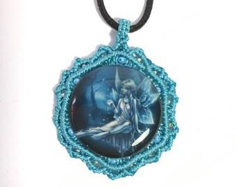 Blue Fairy Pendant