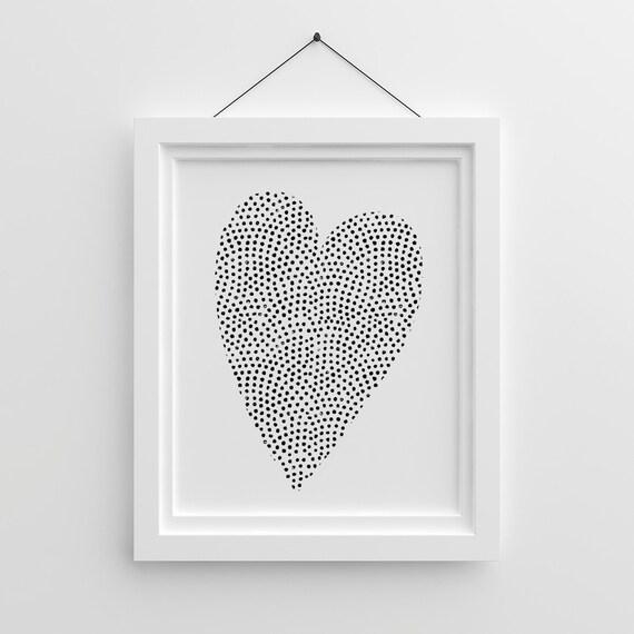 Tumblr Poster Druckbare Herz Liebe Poster Valentinstag Etsy