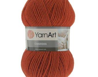 Wool yarn CHARISMA YARNART, winter yarn, a lot of yarn, yarn palette, warm yarn