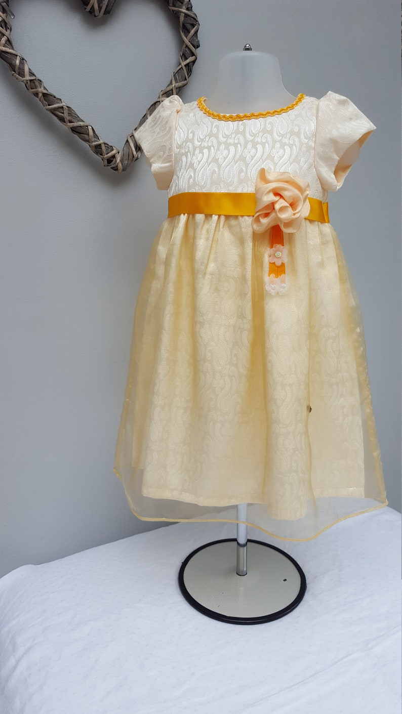 9a67003d1e4 Flower Girl Bridesmaid Baby Wedding Guest Little Girl Birthday