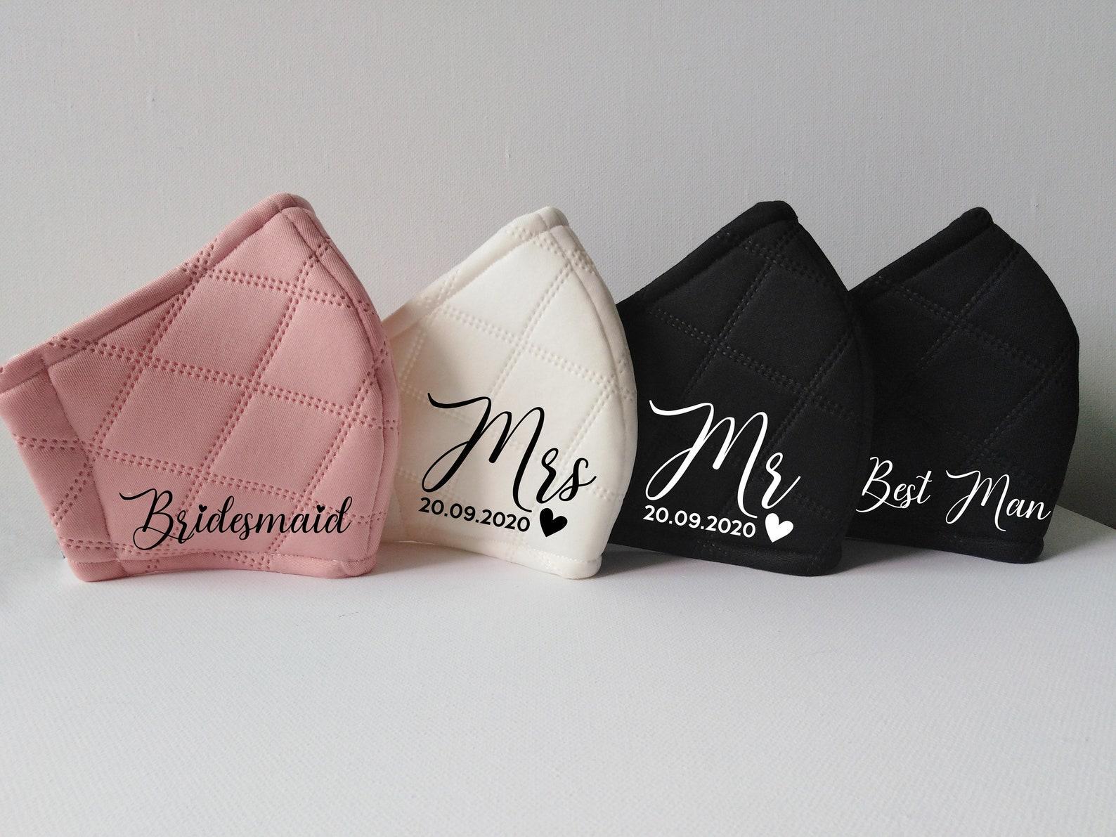 Hochzeitsmasken personalisiert
